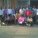 Participants at Nsaru Secondary School