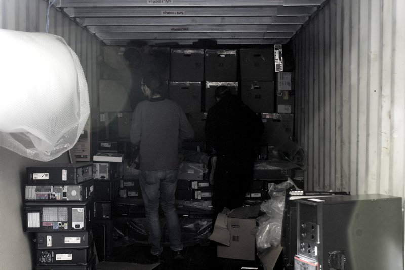 Container packing for tMinds and MUST 2019